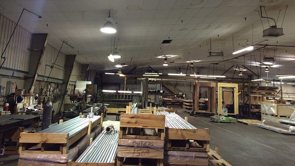 Braden Shielding Warehouse Interior