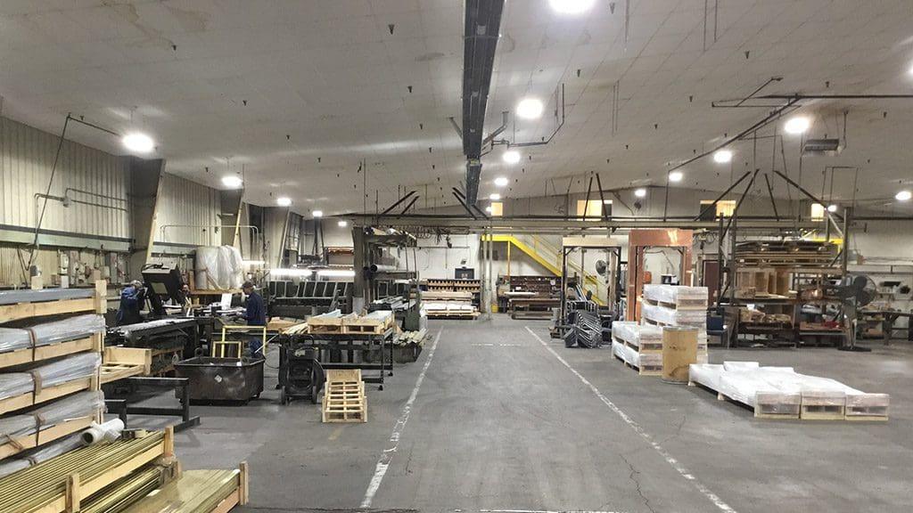 Braden Shielding Interior