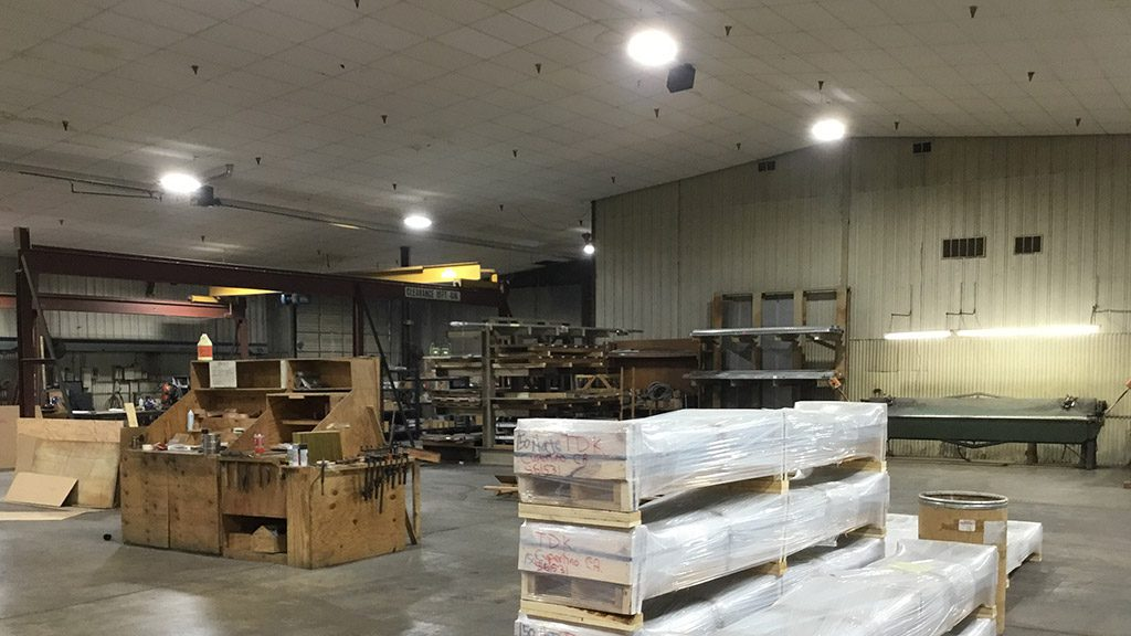 Braden Shielding Lighting Project