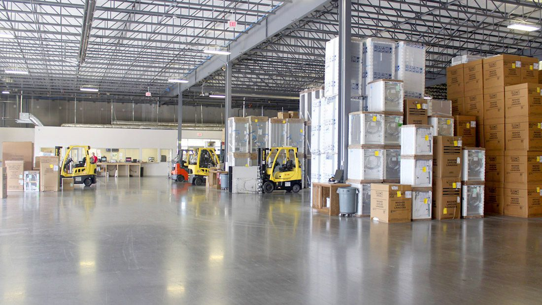 Hahn Appliance Interior Warehouse