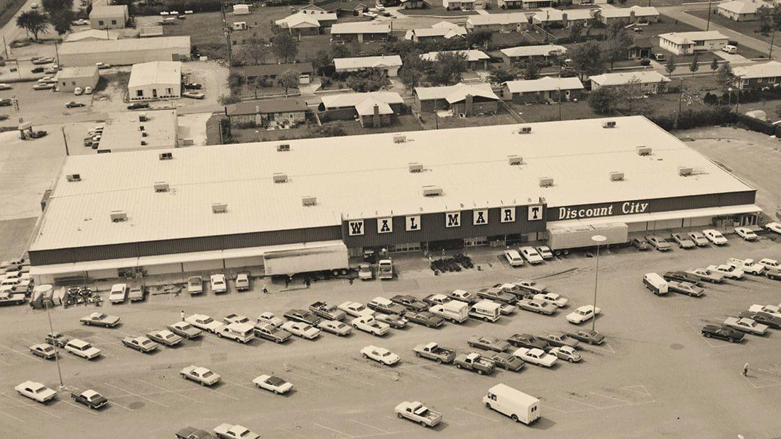 First WalMart Project, 1968