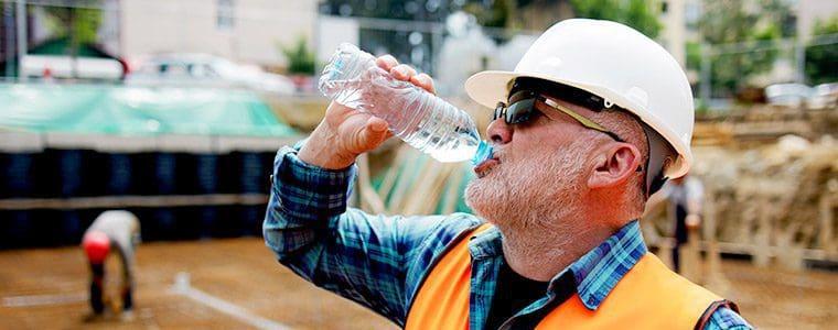 Drink Plenty of Water on the Job