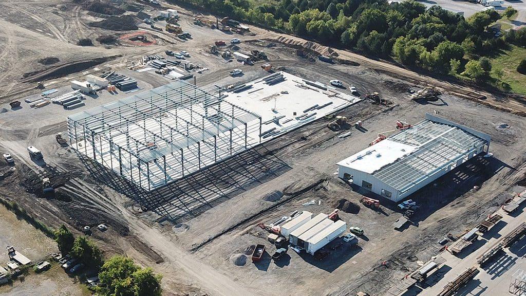 Alfa Laval Plant Under Construction