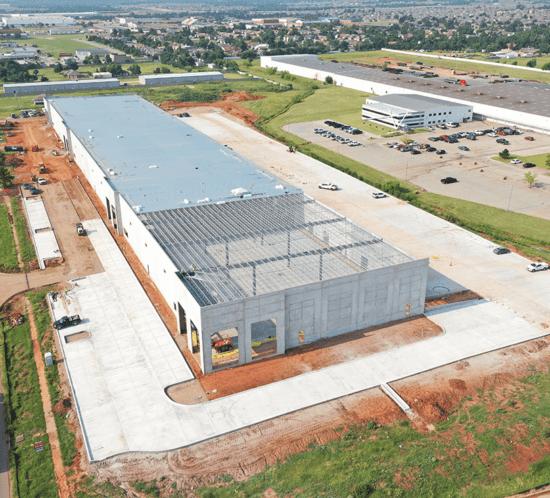 e-commerce distribution center